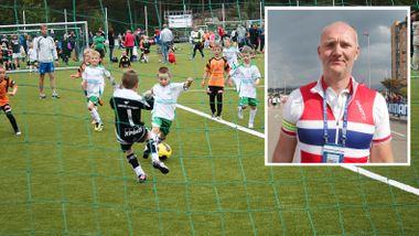 Ber foreldre utfordre barna til å teste andre idretter enn fotball