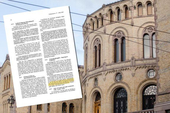 Stortinget fikk vite om skatteplikt på pendlerbolig allerede i 2003: – Helt utrolig at de gjør sånne feil
