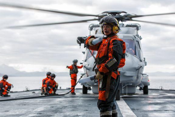 Forsvaret lar milliardhelikoptre stå ubrukt, frykter at de ikke tåler parkering på kystvaktfartøy i dårlig vær