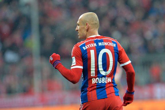 Robben glitret igjen da Bayern slo Köln
