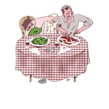Kan du leve med en partner som har et annet kosthold enn deg?