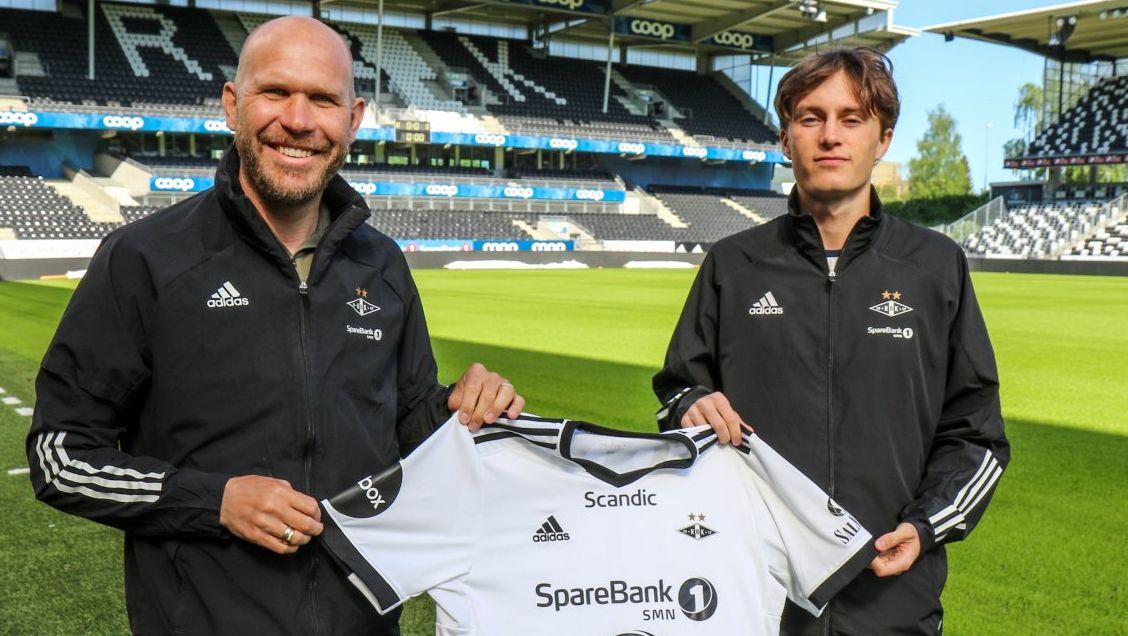 Nå har Brattbakk fått a-kontrakt med RBK