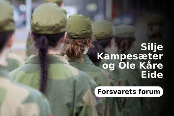 Anki Gerhardsen bommer om #metoo-saker i Forsvarets forum