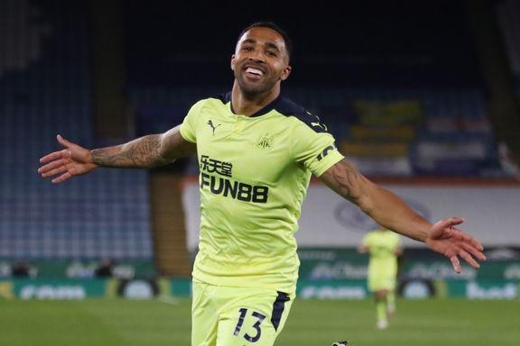 Newcastle satte fyr på CL-kampen med seier over Leicester