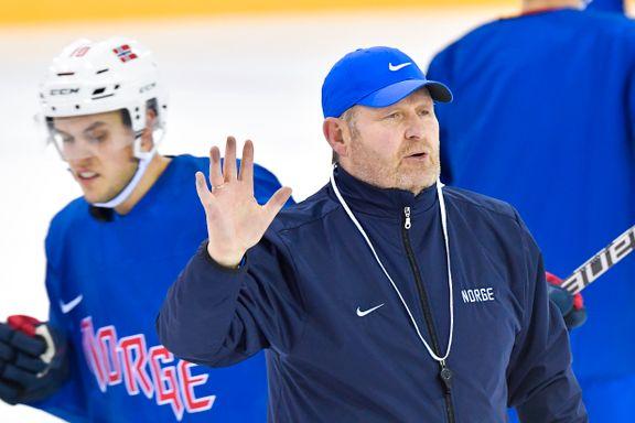 Den norske hockeysjefen er OL-veteran: – Den gang var vi gutter på tur