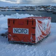 Setter opp kontrollpost ved fylkesvei i Måsøy