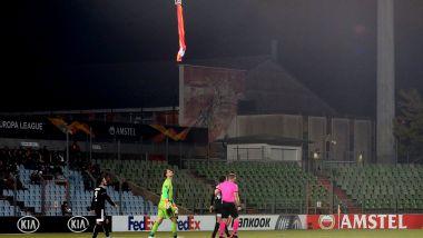 Spesielle scener i Europa League: Her blir kampen stoppet