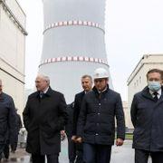 Hviterussisk atomkraftverk stanset dagen etter innvielsen