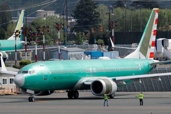 Flyselskap forventer å fly Boeing 737 MAX igjen i januar