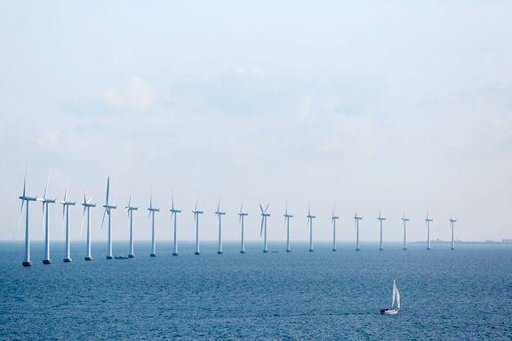 Vind og sol står for nesten halvparten av Danmarks elforbruk