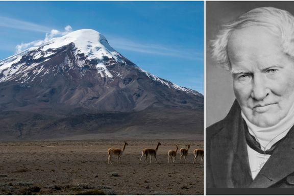 På toppen av denne vulkanen gjorde forskeren en oppdagelse som snudde naturen på hodet