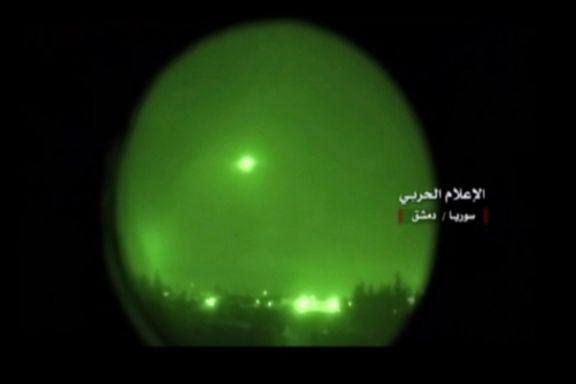 Dette skjedde da Syria ble angrepet i natt