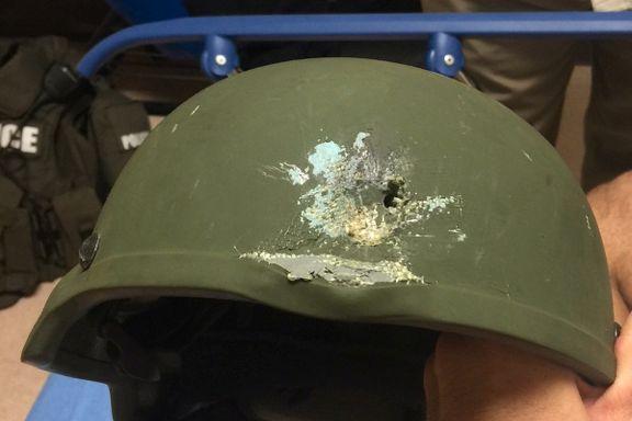 Denne hjelmen reddet Orlando-politimannens liv