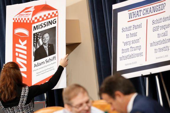 Melder Trump-gransker «savnet» på melkekartong