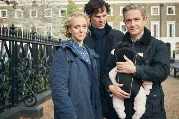 Brutal start på sesong fire av Sherlock