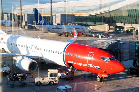 Pilot fra Norwegian stoppet i promillekontroll