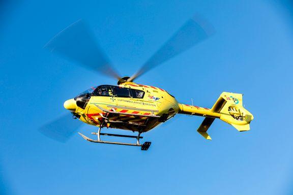 Syv skadet i bilulykke ved Seljord