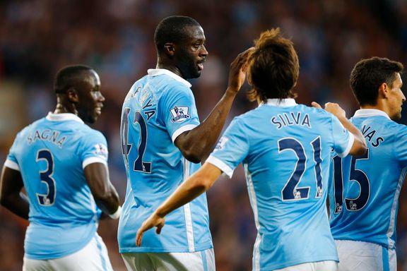 Fantastiske Yaya Touré herjet med West Bromwich i Citys ligapremiere