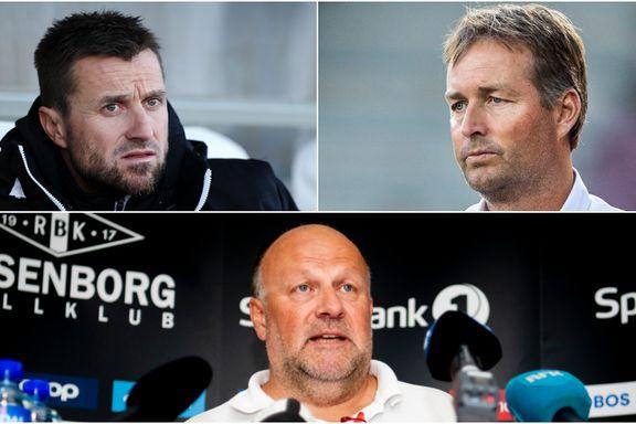 Slik kan trenerjakten ende for Rosenborg