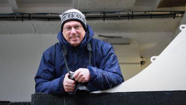 Peter Vermeij og reisefølget ble nektet å forlate Hurtigruten i Ålesund