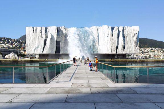 Vil bruke én milliard på nytt «isfjell»-signalbygg
