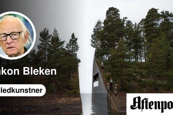 Regjeringen må snu i saken om Utøya-minnesmerket! | Håkon Bleken