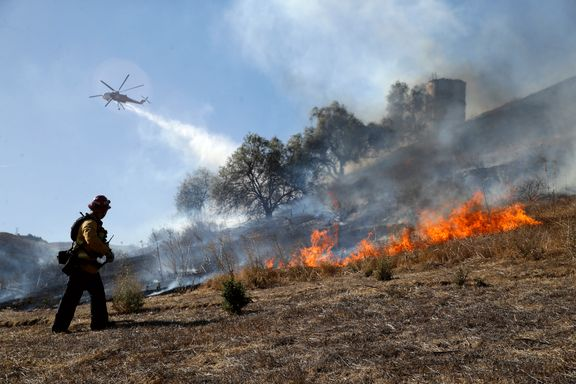 Fremgang for brannvesenet i kampen mot California-skogbranner