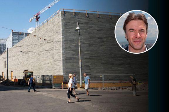 Arkitekten bak nye Nasjonalmuseet: – Skjønner ikke hvordan det er mulig å diskutere et halvferdig bygg