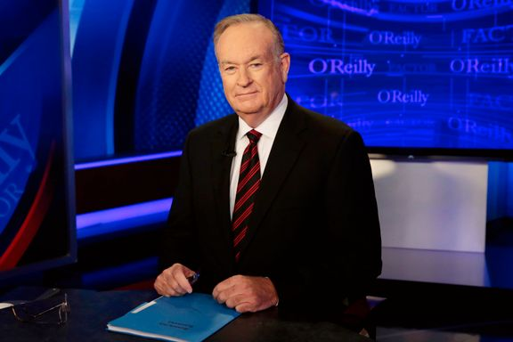Bill O'Reilly får sparken fra Fox News etter overgrepsanklager