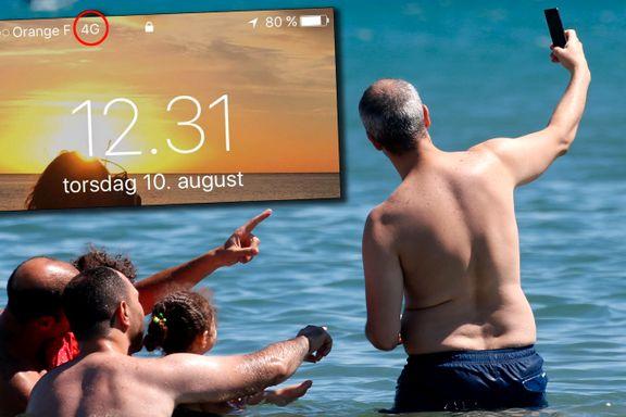 Mobildata-bruken i utlandet tar helt av: – Nå er vi ikke lenger redde for dette ikonet