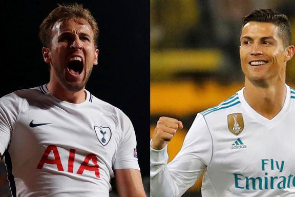 Kane og Ronaldo lagde målshow i hver sin Champions League-kamp