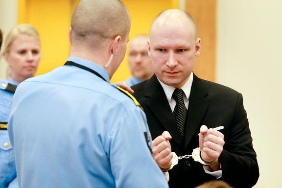 """Regjeringsadvokaten: Vil """"fargelegge beskrivelsen"""" av Breiviks hverdag i fengselet"""