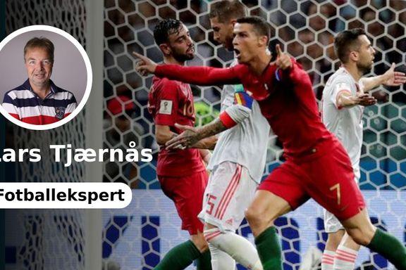Tjærnås-analyse: «Ronaldo viste ufattelig mental styrke»