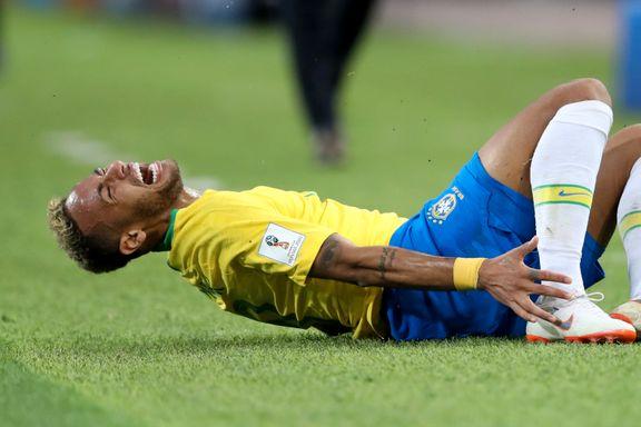 VM-studio: Fotballegende kritiserer Neymars filming