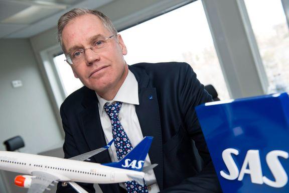 SAS vurderer å flytte ruter på grunn av flyavgiften