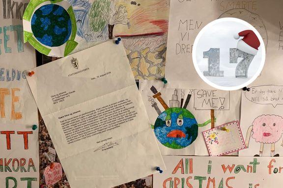 Jeg fikk brev fra statsministeren. Så ble jeg med i klimastreiken.