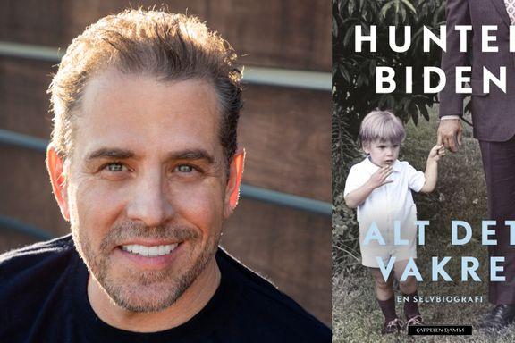 Hunter Biden borer i pinlighetene som en annen Knausgård
