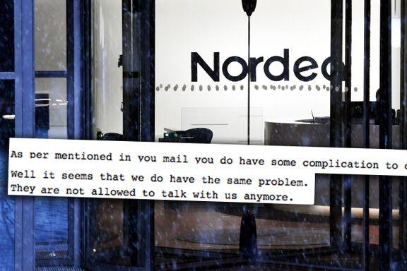 Nordens største bank snudde ryggen til advokatselskapet: «De har ikke lenger lov til å snakke med oss»