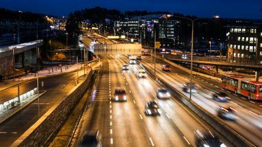 Her – på grensen mellom Oslo og Bærum – kan E18-floken løses