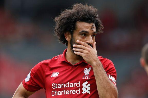PREMIER LEAGUE DIREKTE:  Salah sendte Liverpool til topps