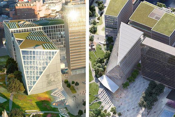 Statsbygg avviser klagen på arkitektkonkurransen om regjeringskvartalet