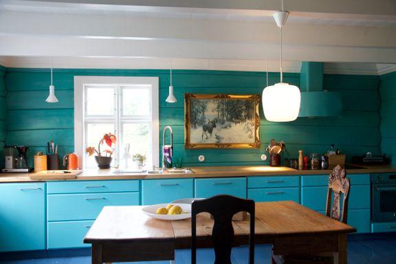 Restaurerte 200 år gammelt hus: Her er det sjel i hver planke
