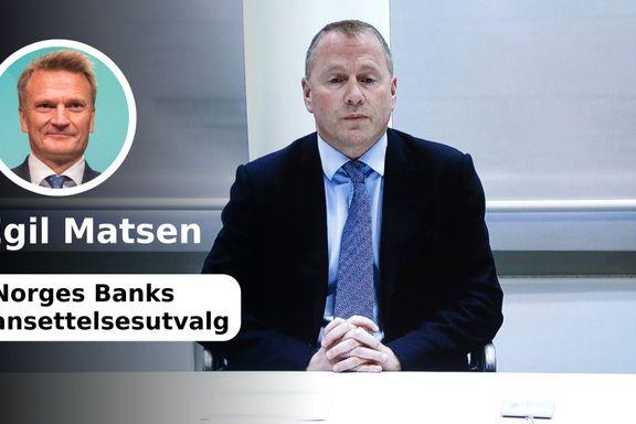 Det er feil at Tangens forretningsdrift ikke ble vurdert av hovedstyret i Norges Bank