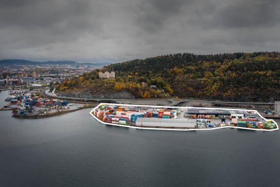 Her kan danskebåten og Kiel-fergen havne
