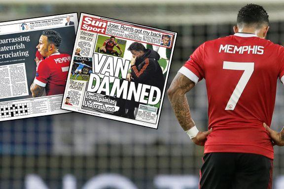 United-slakt i engelske aviser: «Pinlig. Amatørmessig. Ulidelig»