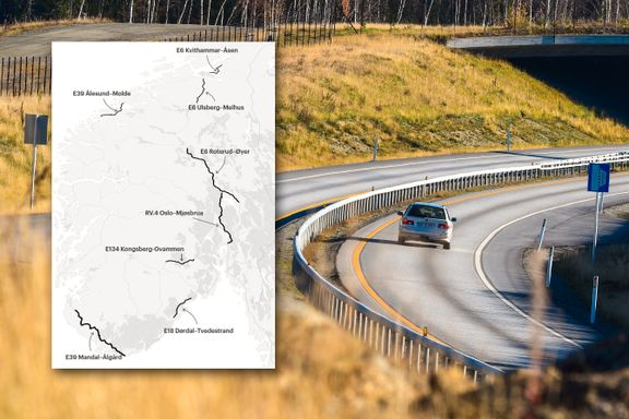 Her kan det nå bli firefelts motorvei i stedet for tofelts