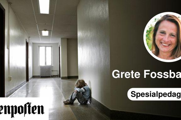 Nedleggelsen av spesialskoler ble en katastrofe for noen barn | Grete Fossbakk