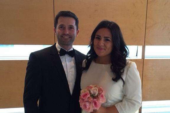 Ett av fem par giftet seg i utlandet i fjor. Marjan og Pål brukte «kun» 40.000 kroner på sitt Berlin-bryllup