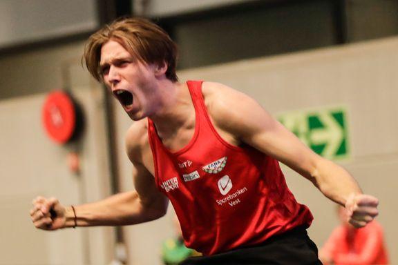 Norsk stortalent (18) imponerte - slo OL-vinnere