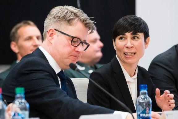 Forsvarsministeren: Terrorsikring tok lengre tid enn ventet